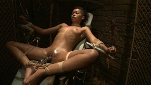 Teen Skin Diamond BDSM at the party