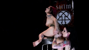 Joanna Angel and Draven Star in company with Anna Angel