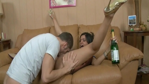 Young babe likes the best sex