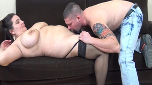 Busty hungarian buxom finds pleasure in hard pounding in HD