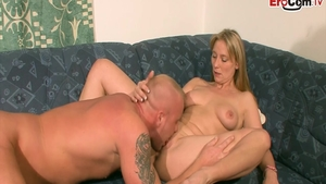 Deutsch pussy fuck at the castings HD