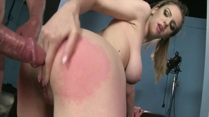 Large tits babe Stella Cox goes for hard sex