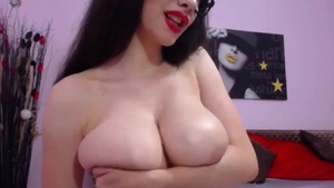 Big tits babe does what shes told