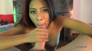 POV hard slamming along with Nicole Ferrera