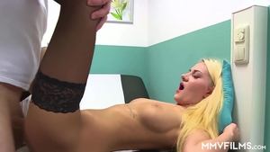 Fetish hard ramming escorted by very hot blonde babe