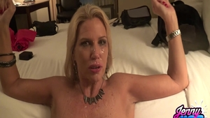 Hottest cougar crazy cumshot