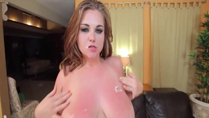 Charming young supermodel Mazzaratie Monica art blowjob in HD