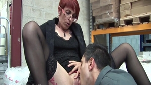 Classy french babe feels up to crazy rough sex HD