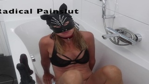 'Drooling, Spitting, Pissing And Squirting Degraded compliant Painslut'