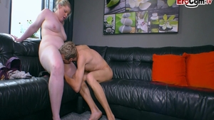 At casting starring fat skinny german amateur