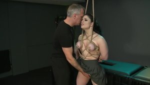 Fetish nailing among large boobs brunette Lucia Love