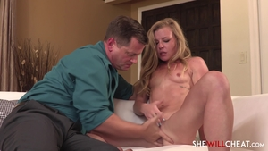 Young Nicole Clitman feels in need of real sex