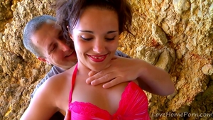 Exotic woman POV fucks in the ass outdoors