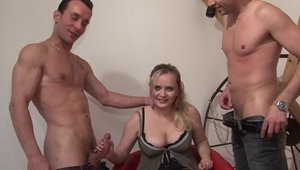 Passionate french experience pussy fuck