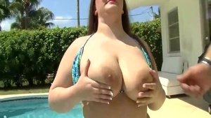 Big boobs MILF Madison Stone experience sucking cock HD