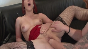 Hard ramming with sweet french chick