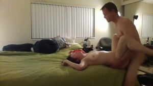 Young brunette feels in need of good fucking in HD