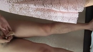 Very kinky chinese amateur feet licking in HD