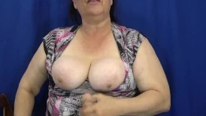 Large tits BBW roleplay solo