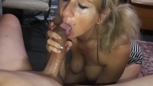Plowing hard along with perfect amateur