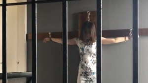 Bondage in the company of chinese female