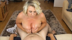 British amateur handjob in HD