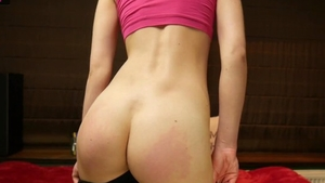 Solo very small tits female ass fucking in the leggings