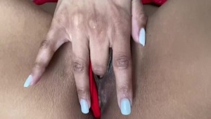 Reality creampied in company with small tits ebony couple