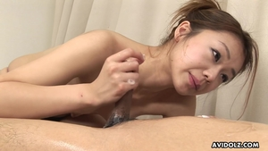 Asian playing with sex toys HD