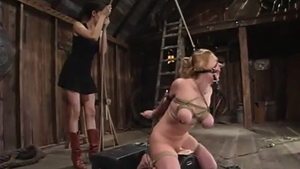Dee Williams electro BDSM sex video