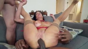 Veronica Avluv brutal sucking cock video