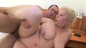 Banging european bends over in hotel
