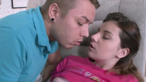Plowing hard starring small tits russian brunette