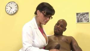 Sex scene escorted by doctor