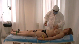 Katie Kupps in bikini reality medical exam at casting