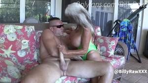 Big ass dirty GILF taboo cheating in the pool