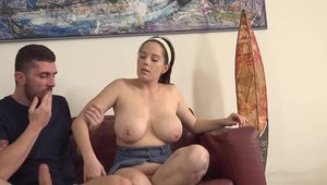 Chubby czech babe gets a buzz out of hard fucking