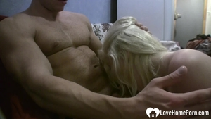 Rough slamming hard along with tight amateur