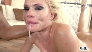 Naughty russian pornstar Kitana Lure goes in for rough nailing