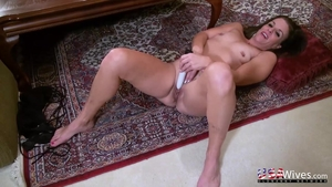Pussy fucking in company with housewife
