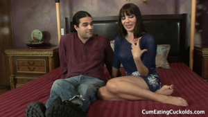 Very hot Dana Dearmond being fucked by BBC husband
