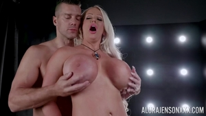 Horny Alura Jenson together with Ramon Nomar raw ass pounding