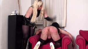 Femdom starring deutsch blonde haired