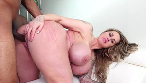Deepthroat with big butt MILF Ryan Conner