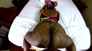 Ebony ass fucking