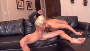 Real sex escorted by blonde babe Diana Doll