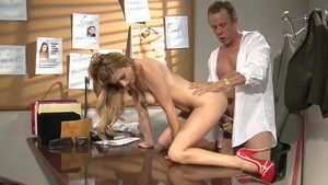 Lexi Belle does what shes told in office