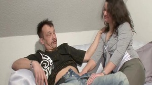 Blowjob together with deutsch mature