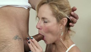 Plowing hard among very hot MILF Molly Maracas