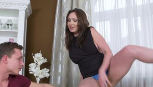 Raw hard pounding together with mature Yasmin Scott